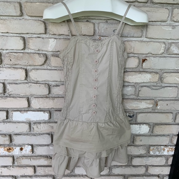 highly praised low price innovative design Lavo tan sundress